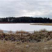 7 Half Diamond Ranch Bastone Lake & Fishing Pond - WINTER